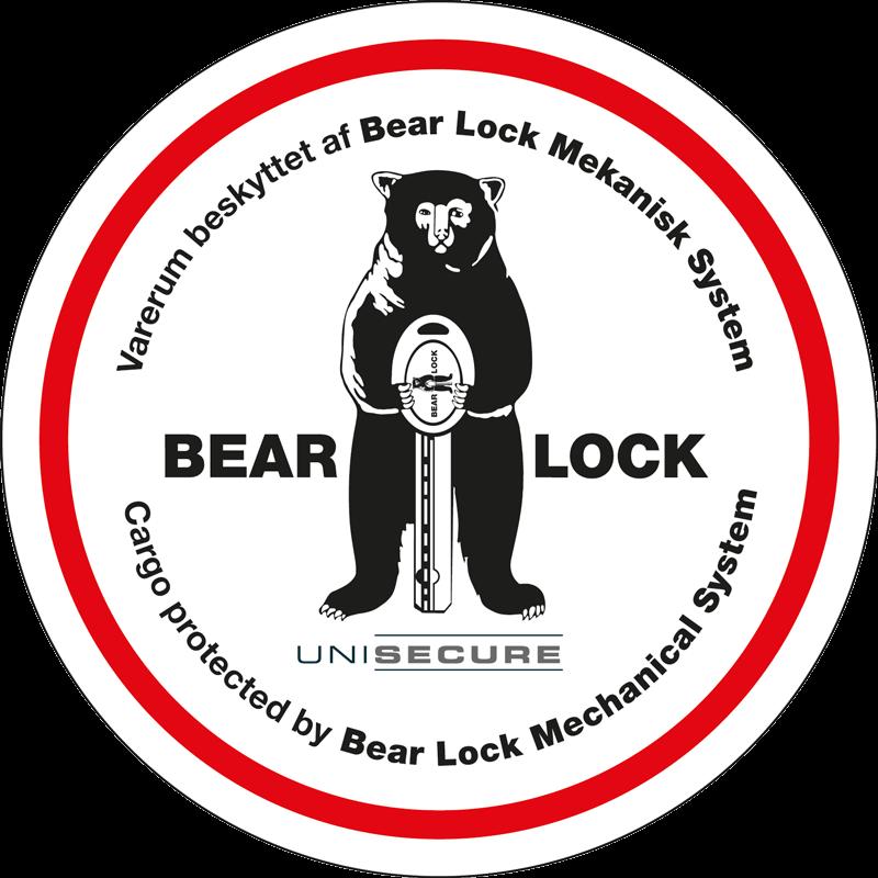Cargo-Lock med installation - Markedets mest indbrudssikre mekaniske lås til varebiler og varevogne - Bear-Lock - FindMyGPS