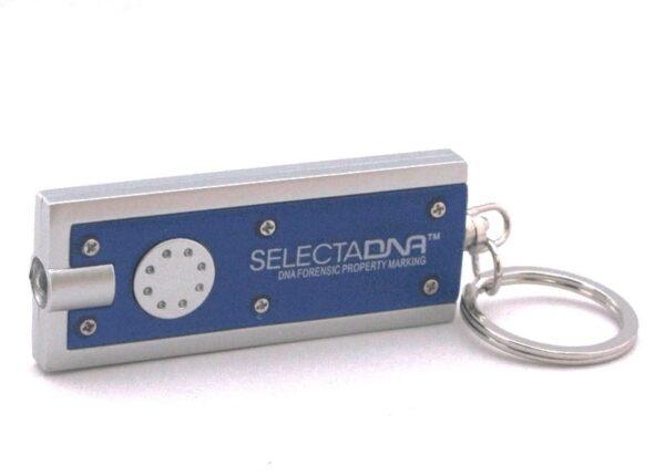 SelectaDNA UV-nøglering - DNA mærkning - FindMyGPS