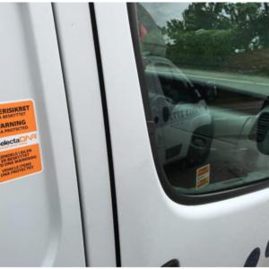 SelectaDNA mærkningspakke til 4 varebiler og 100 stykker værktøj - DNA mærkning - FindMyGPS