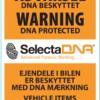 SelectaDNA mærkningspakke til 4 varebiler og 100 stykker værktøj - DNA mærkning - FindMyGPS (4)